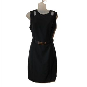 BCX black belted midi dress 9